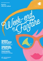 Affiche Week-End en Fanfare 2018